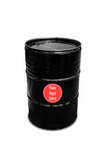 Barrelkings Bedrucktes Ölfass 60-120-200 Liter mit Logo | Text | Bild Ihrer Wahl