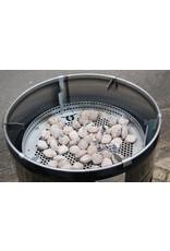 BarrelQ BarrelQ Big barbecue- vuurkorf-statafel + leder schort