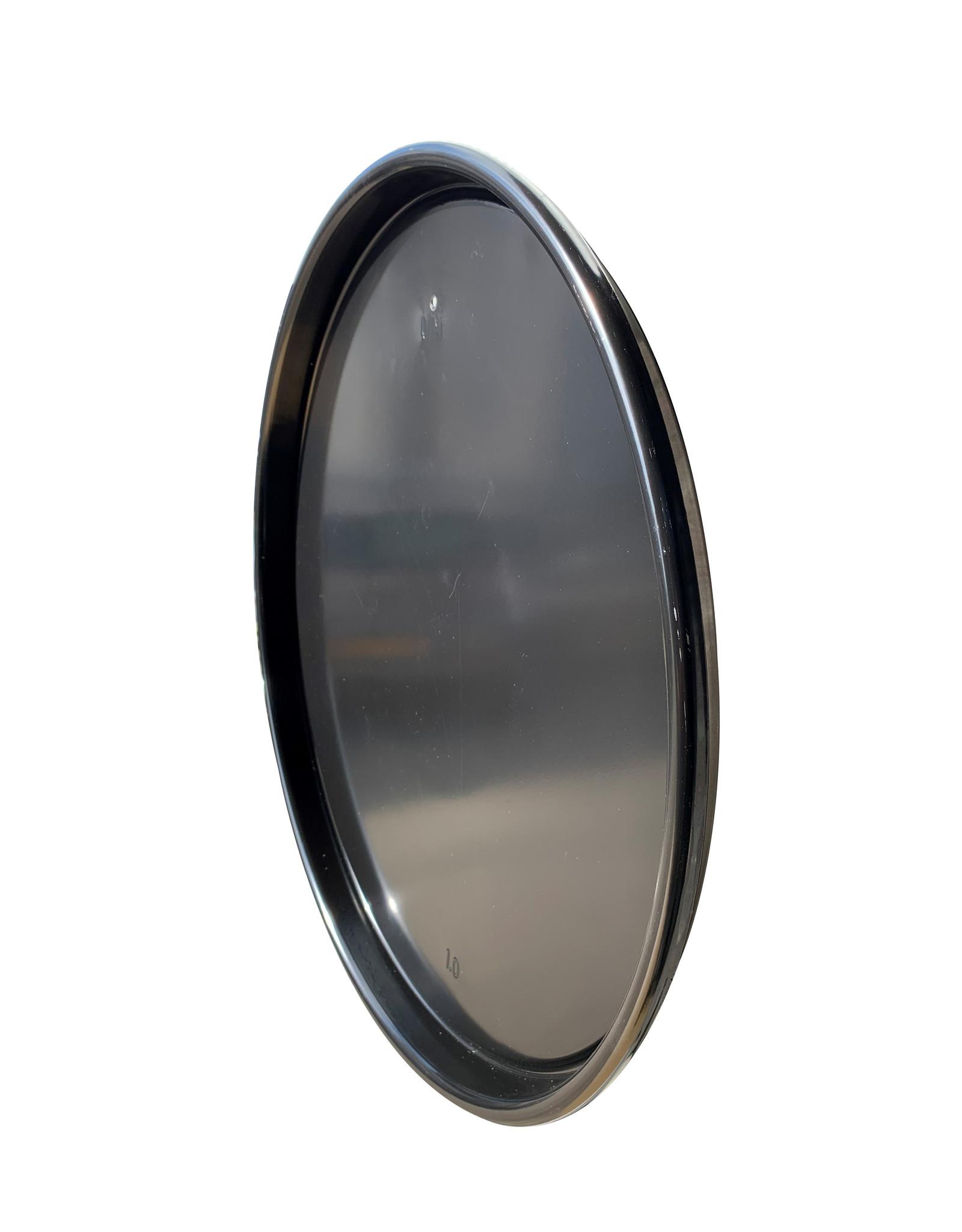 Barrelkings industrial magnetic board- black metal- 58 CM high-gloss black.
