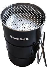 DrumGrill Drumgrill Medium 120 Liter, Holzkohlegrill, Feuerstelle, und Tischplatte