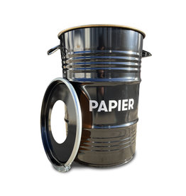 Barrelkings BinBin Hole Paper industrieller Papierkorb