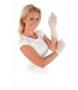 Hygostar Nitril poedervrije disposable handschoen - SAFE LIGHT