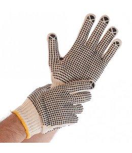 Hygostar Fijn gebreide handschoen met PVC noppen- EZRA