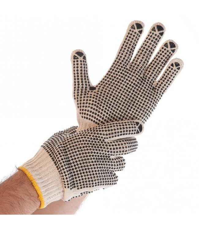 Hygostar - Fijn gebreide handschoen met PVC noppen - EZRA