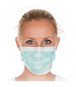 Hygostar Gezichtsmasker met geintegreerd neusstuk  en rubberen band - TIES