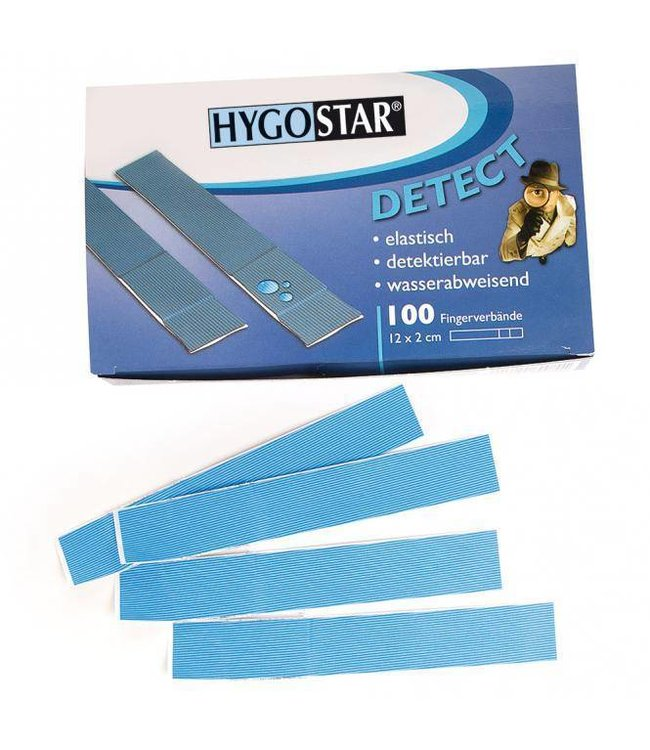 Hygostar - detecteerbare vinger pleisterstrips - FINGER
