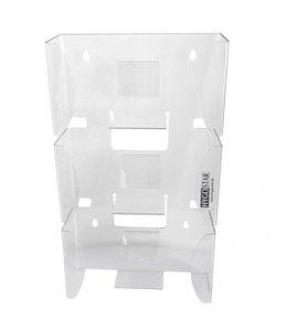 Hygostar Handschoen dispenser in acryl  ( 3 doosjes)- JANGO