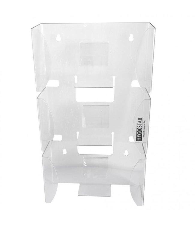 Hygostar - Handschoen dispenser in acryl (3 doosjes) - JANGO