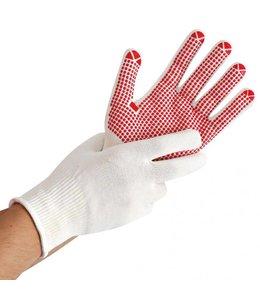Hygostar Katoenen handschoen met PVC noppen - DELTA