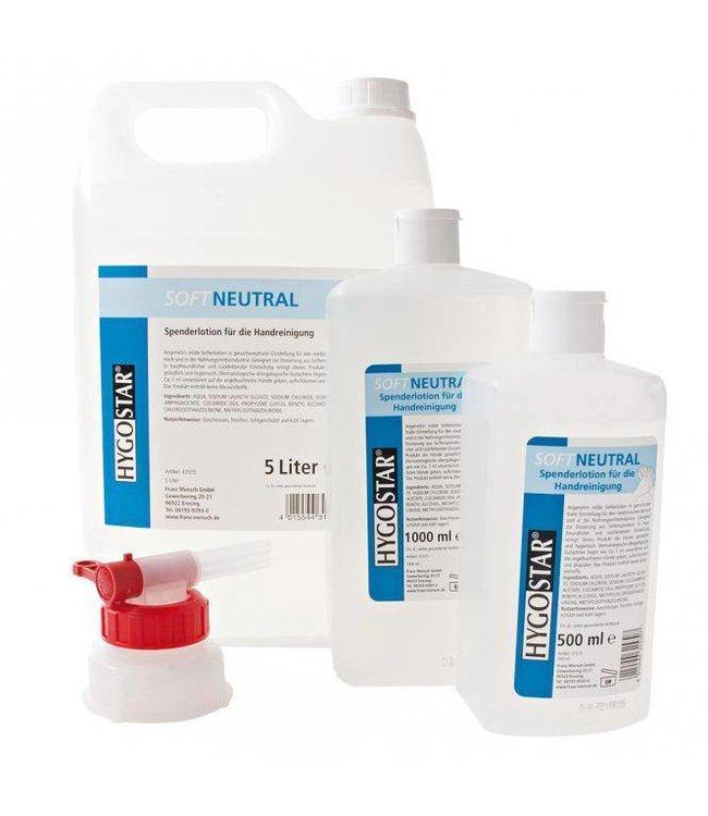 Hygoclean - Soft Neutraal Lotion zeep - BARBALA