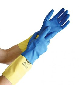 Hygostar Latex handschoenen tegen chemische bescherming - DUALPRENE