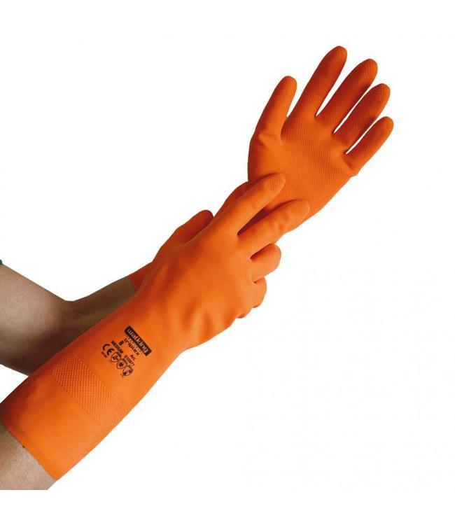 Hygostar -Latex beschermende handschoen tegen chemicaliën - TRIPLEX