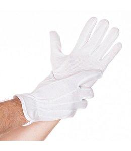 Hygostar Katoenen handschoenen met tricot grip - QUINTO