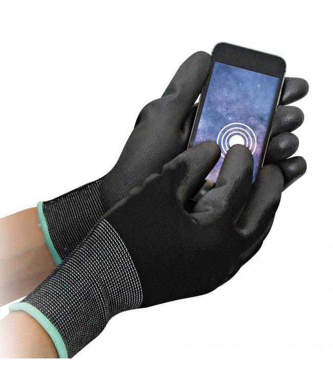 Hygostar -werkhandschoen met touch screen coating op 3 vingertoppen - TOUCH