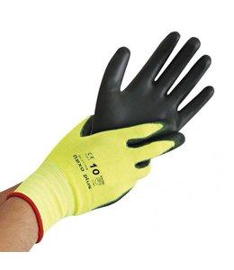 Hygostar Nylon fijn gebreide handschoen met PU-coating - NEON ACE