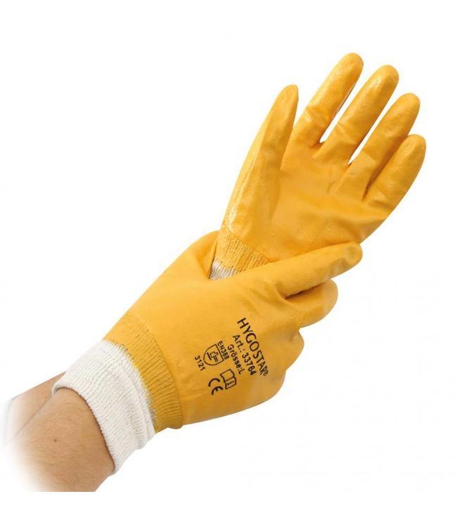 Hygostar - Werkhandschoen nitril grip -REEF