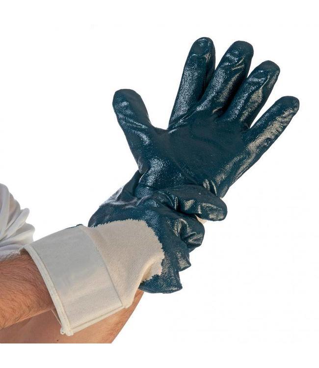 Hygostar - Nitril handschoenen met veiligheidsmanchet - TERMINATOR