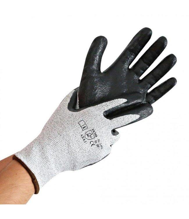 Hygostar - Snijbeschermings handschoen met nitrilschuim coating - JADE