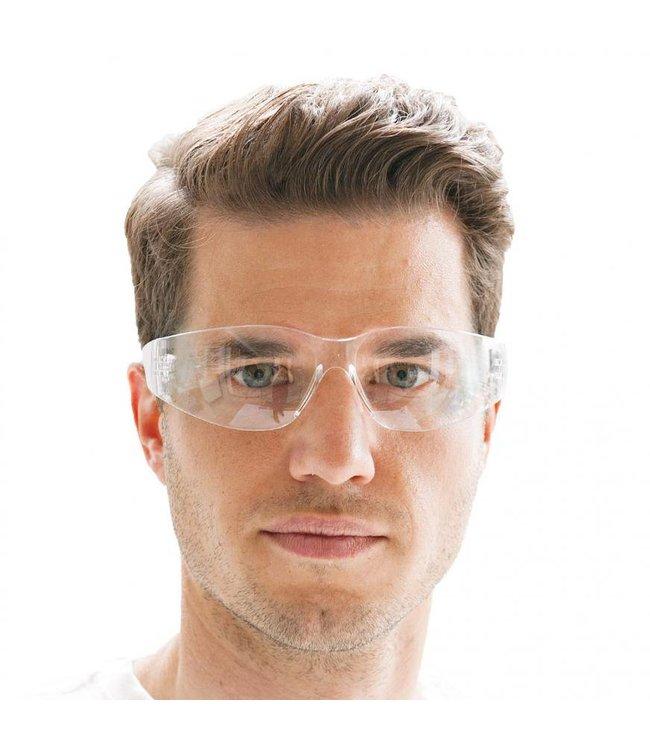 Hygostar - Veiligheidsbril, ideaal onder oorkappen - WARREN