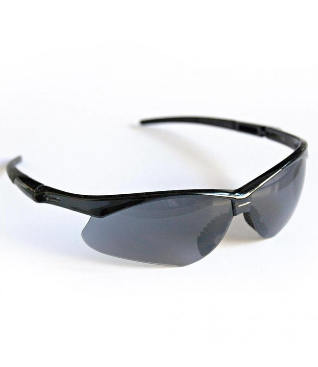 Hygostar - Heldere veiligheidsbril met grijze glazen - EVADOR