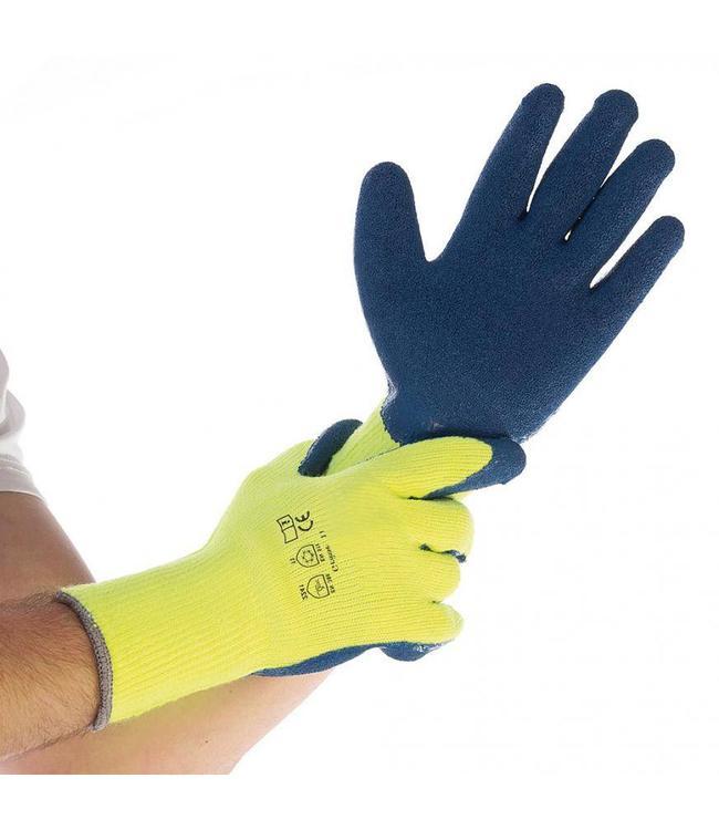 Hygostar - Thermo handschoen  latex gecoat - STAR