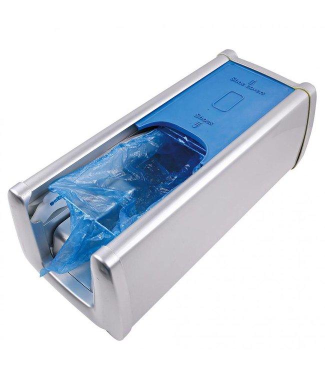 Hygostar - Overschoen dispenser -  BLANCH