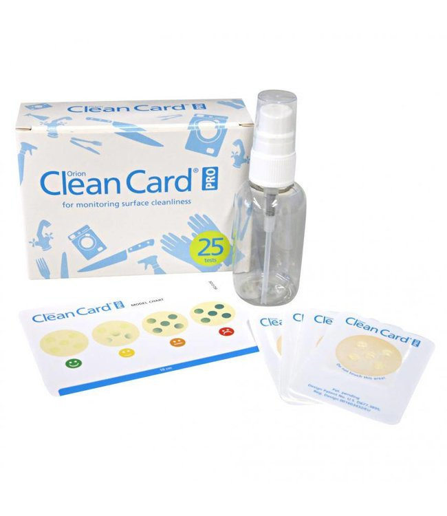 Hygostar - Navulverpakking hygiënetest, Clean Card PRO -