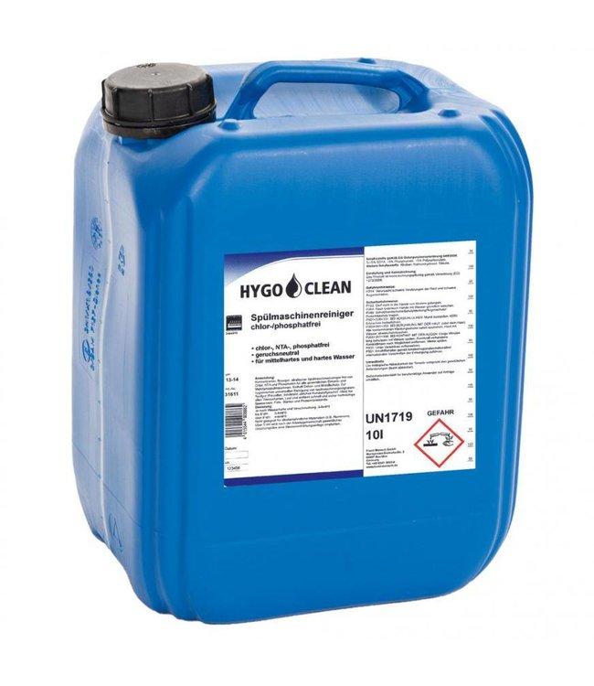 Hygoclean - Vaatwasser reiniger chloor en fosfaatvrij - TIPET