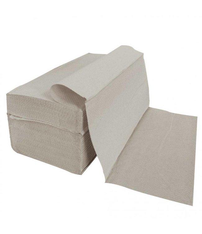 Hygostar - Papieren handdoek 1-laags Z-in elkaar gevouwen - GERBO