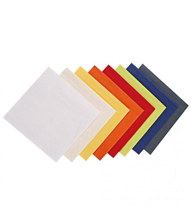 Hygostar - Coctail servetten 3-laags 24 x 24 cm - TIGNES
