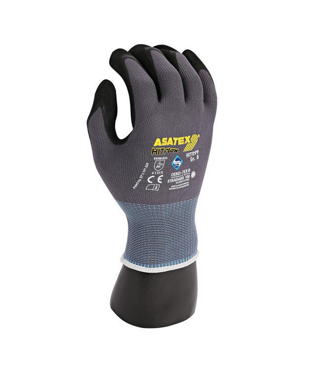 Hygostar - Nylon fijn gebreide handschoen met 3/4 PU-coating - WICO