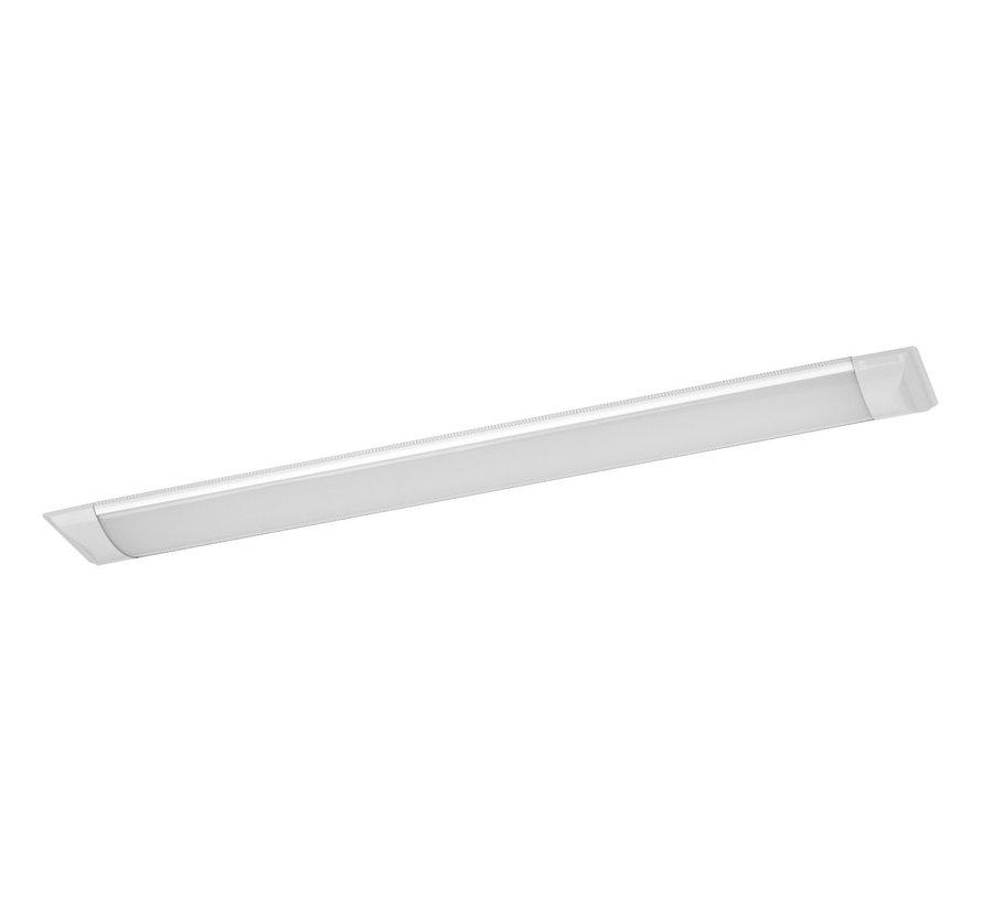 LED - 120CM - Decken Unterbauleuchte Komplett integrierte LED - Batten IP20  - 40W - 4000LM  - 230v