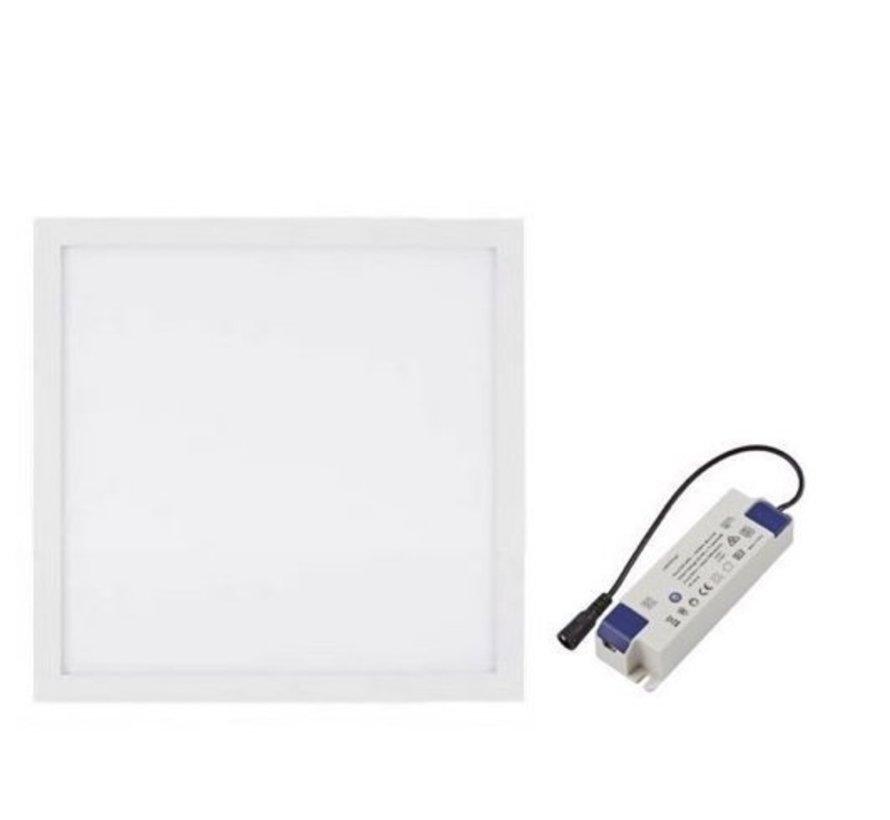 LED Panel 30x30 cm 12W 6000K 900lm inkl. Treiber 5 Jahre Garantie   Flimmerfrei