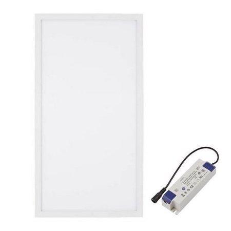 LED Panel 30x60 cm - 25W - 4000K - Neutral Weiß - 2125lm inkl. Treiber 5 Jahre Garantie | Flimmerfrei