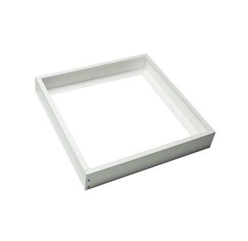 Decken Aufbaurahmen 30x30CM - Weiß - für LED Panel - inkl. Befestigungsmaterial