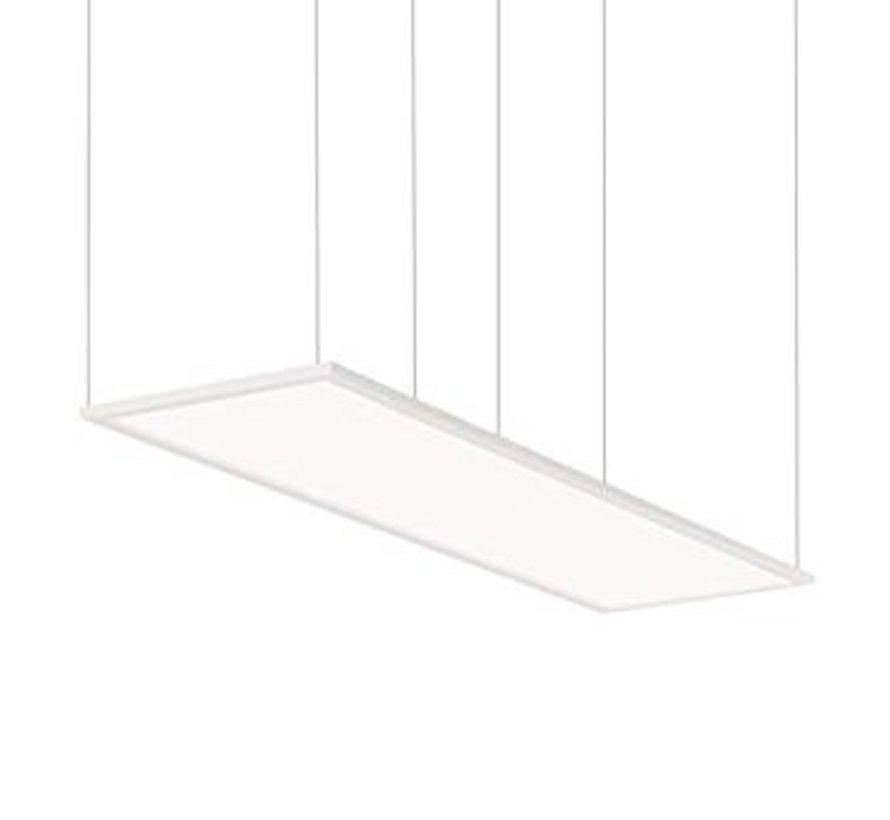 LED Panel Stahl Seilsystem Aufhängung 4x 1,0 Meter