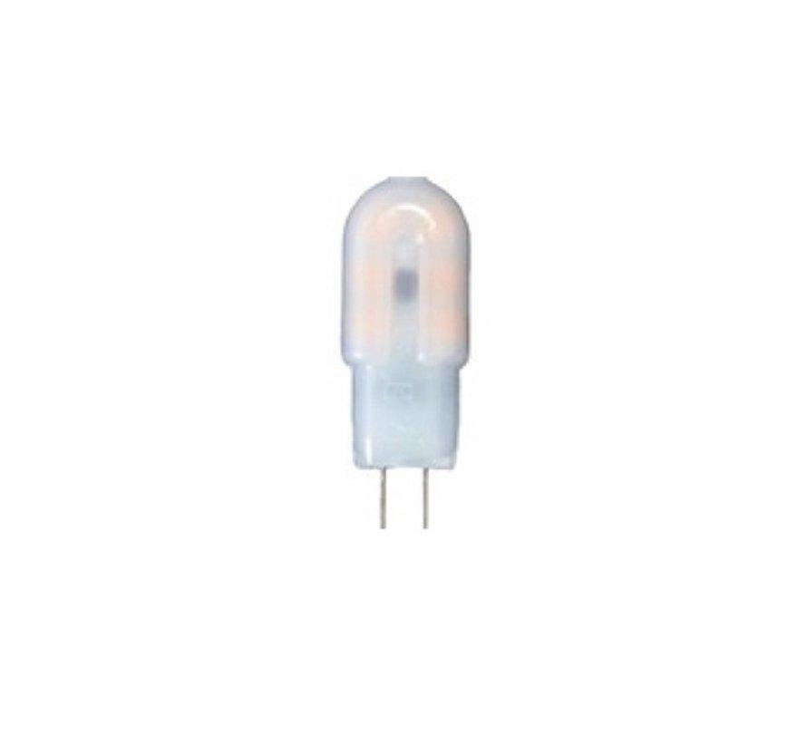LED G4 Stiftsockellampe 12V 2W 6000K ersetzt 15W 12*38 mm