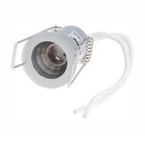 G4 Strahler - Einbaurahmen 29 mm - Außengröße 31 mm - Silber Alu - rund - IP20