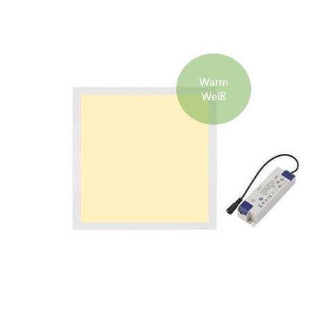 LED Panel 30x30 cm 18W - Warm Weiß  - 3000K 1530lm inkl. Treiber 5 Jahre Garantie
