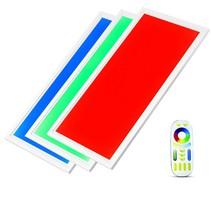 LED Panel Dimbar - 120x60cm RGB + 3000K, 4000K und 6000K 48W mit Fernbedienung  - 3 Jahr Garantie