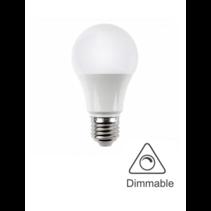 Dimmbare LED Lampe - E27 Fassung - 9W ersetzt 80W - Lichtfarbe optional