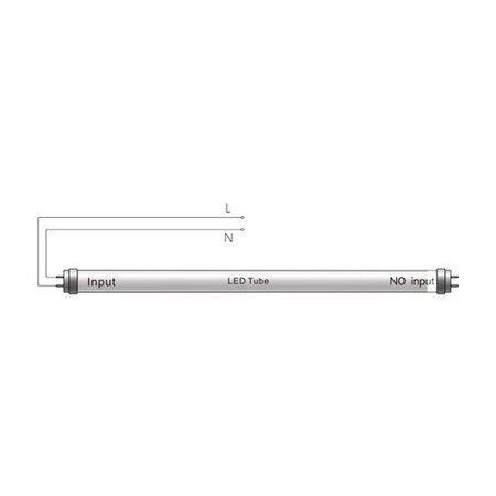 LED Röhre G13/T8 - 150cm - 6000K - 865 - Kaltweiße Licht Farbe - 24W ersetzt 58W
