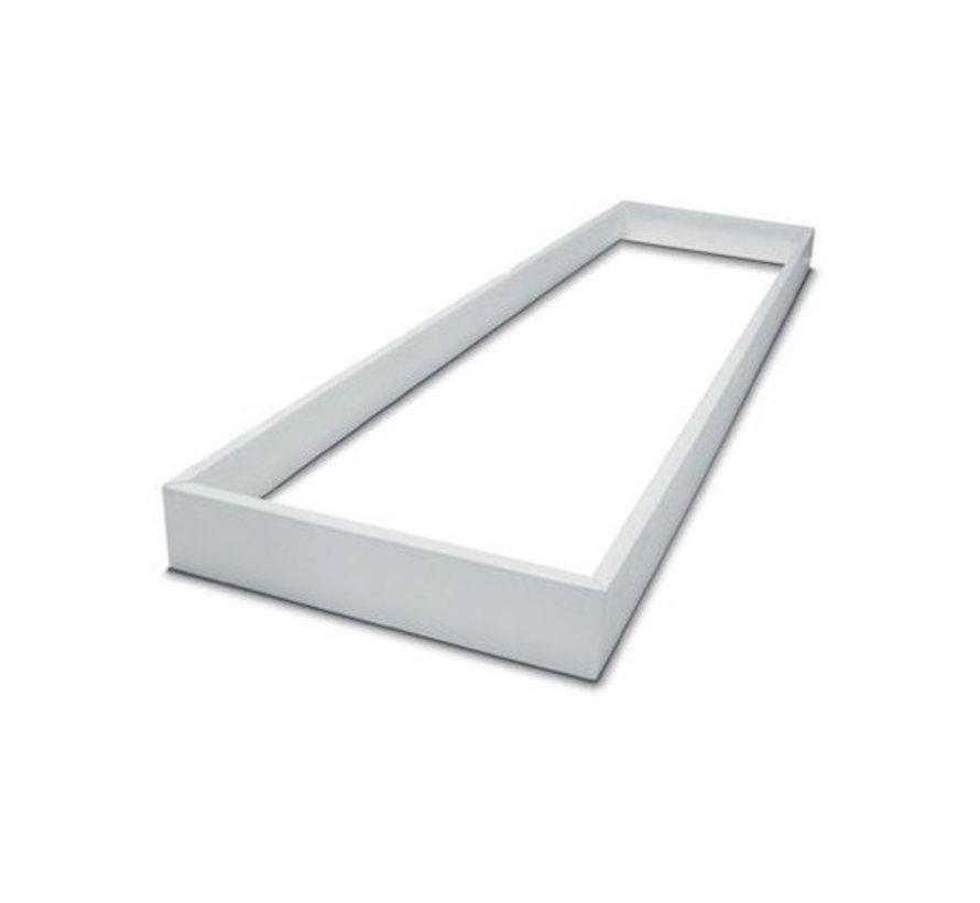 Decken Aufbaurahmen 120x60CM - Weiß - für LED Panel - inkl. Befestigungsmaterial