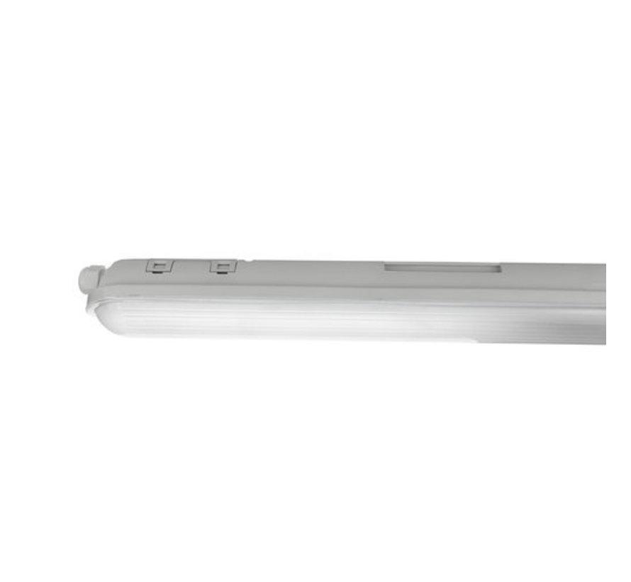 LED - IP65 - Wannenleuchte  -Unterbauleuchte 120cm - 38W - 150 Lumen P/Watt - 4000K - 840 - Neutral Weiß - easy durch kuppeln
