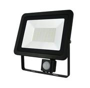 50W - LED Fluter - Scheinwerfer - PIR MOTION SENSOR - 3 Jahr Garantie - 50W ersetzt 400W - 230V