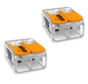 WAGO Federklemme 2-polig 0.14-4 mm² - 2 Stück
