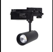 LED Schienenstrahler Schwarz - 10W 100 lm p/W 4000 K