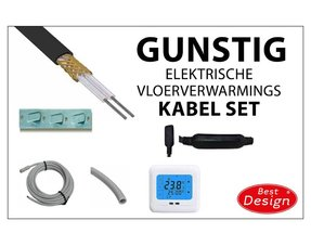 "Elektrische Vloerverwarmings-kabel sets ""GUNSTIG"""