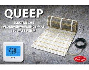 """Elektrische vloerverwarmings-matten sets """"QUEEP"""""""