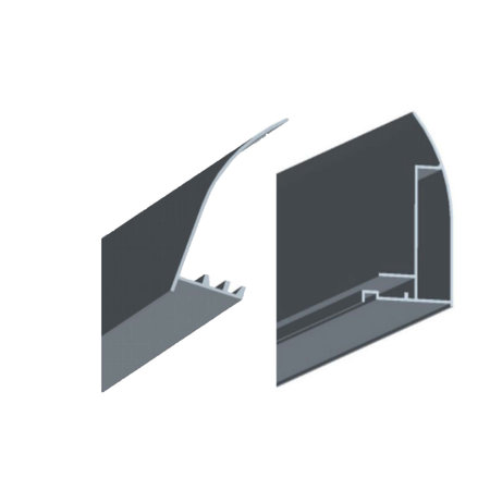 "Best-design Best-Design aluminium deurprofiel voor ""Erico"" 3875240-3875250"